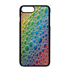 Bubbles Rainbow Colourful Colors Apple Iphone 7 Plus Seamless Case (black) by Nexatart