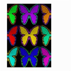 Butterflies Pattern Small Garden Flag (two Sides)