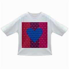 Butterfly Heart Pattern Infant/toddler T Shirts