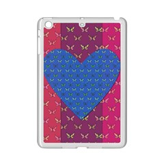 Butterfly Heart Pattern Ipad Mini 2 Enamel Coated Cases