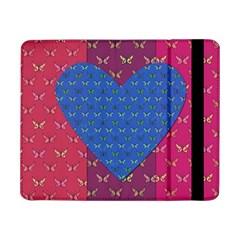 Butterfly Heart Pattern Samsung Galaxy Tab Pro 8 4  Flip Case by Nexatart