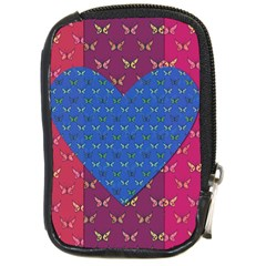 Butterfly Heart Pattern Compact Camera Cases