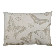 Butterfly Background Vintage Pillow Case