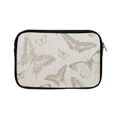 Butterfly Background Vintage Apple Ipad Mini Zipper Cases