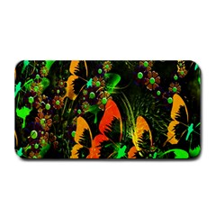 Butterfly Abstract Flowers Medium Bar Mats