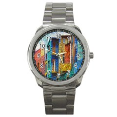Buenos Aires Travel Sport Metal Watch