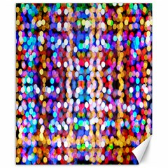Bokeh Abstract Background Blur Canvas 8  X 10  by Nexatart
