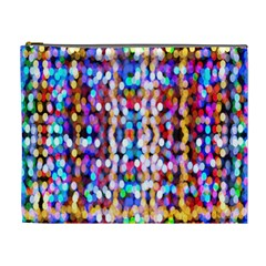 Bokeh Abstract Background Blur Cosmetic Bag (xl)