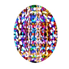 Bokeh Abstract Background Blur Ornament (oval Filigree)