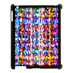 Bokeh Abstract Background Blur Apple Ipad 3/4 Case (black)