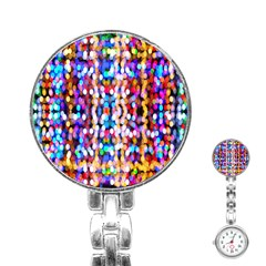 Bokeh Abstract Background Blur Stainless Steel Nurses Watch