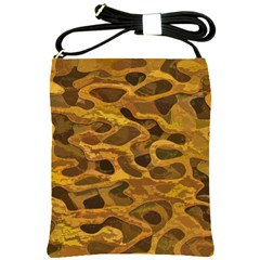 Camo Shoulder Sling Bags by Nexatart