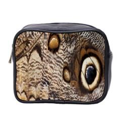 Butterfly Wing Detail Mini Toiletries Bag 2 Side