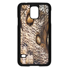 Butterfly Wing Detail Samsung Galaxy S5 Case (black)