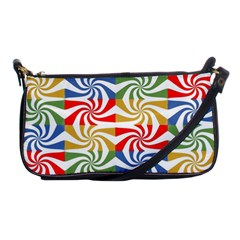Candy Pattern  Shoulder Clutch Bags by Nexatart