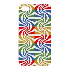 Candy Pattern  Apple Iphone 4/4s Premium Hardshell Case