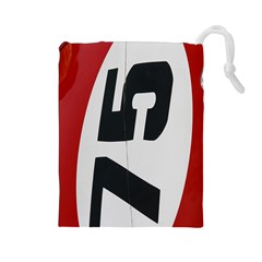 Car Auto Speed Vehicle Automobile Drawstring Pouches (large)
