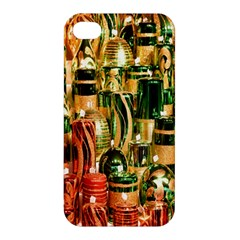 Candles Christmas Market Colors Apple Iphone 4/4s Premium Hardshell Case