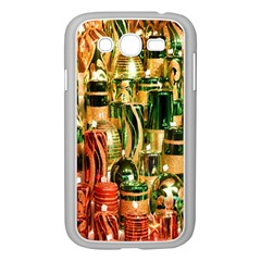 Candles Christmas Market Colors Samsung Galaxy Grand Duos I9082 Case (white) by Nexatart