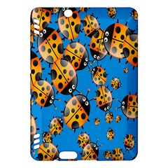 Cartoon Ladybug Kindle Fire Hdx Hardshell Case by Nexatart