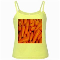 Carrots Vegetables Market Yellow Spaghetti Tank