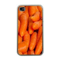 Carrots Vegetables Market Apple iPhone 4 Case (Clear)