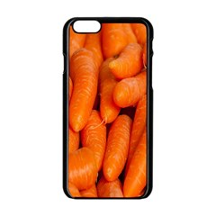 Carrots Vegetables Market Apple Iphone 6/6s Black Enamel Case by Nexatart