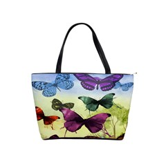 Butterfly Painting Art Graphic Shoulder Handbags