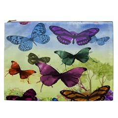 Butterfly Painting Art Graphic Cosmetic Bag (xxl)