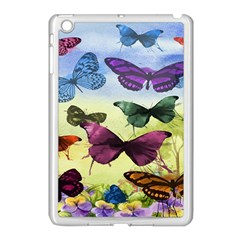Butterfly Painting Art Graphic Apple Ipad Mini Case (white)