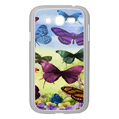 Butterfly Painting Art Graphic Samsung Galaxy Grand Duos I9082 Case (white)