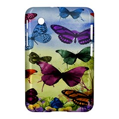 Butterfly Painting Art Graphic Samsung Galaxy Tab 2 (7 ) P3100 Hardshell Case