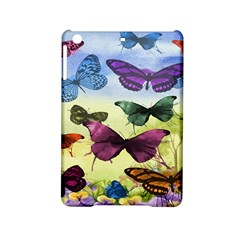 Butterfly Painting Art Graphic iPad Mini 2 Hardshell Cases by Nexatart