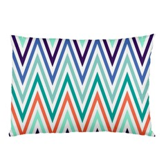 Chevrons Colourful Background Pillow Case