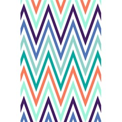 Chevrons Colourful Background 5 5  X 8 5  Notebooks by Nexatart