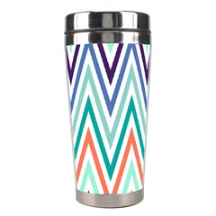 Chevrons Colourful Background Stainless Steel Travel Tumblers