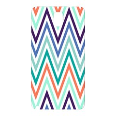 Chevrons Colourful Background Samsung Galaxy Note 3 N9005 Hardshell Back Case by Nexatart
