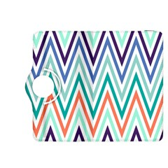 Chevrons Colourful Background Kindle Fire HDX 8.9  Flip 360 Case by Nexatart