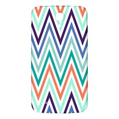 Chevrons Colourful Background Samsung Galaxy Mega I9200 Hardshell Back Case by Nexatart