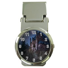 Castle Mystical Mood Moonlight Money Clip Watches by Nexatart