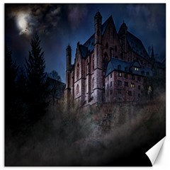 Castle Mystical Mood Moonlight Canvas 12  X 12