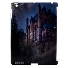 Castle Mystical Mood Moonlight Apple Ipad 3/4 Hardshell Case (compatible With Smart Cover) by Nexatart