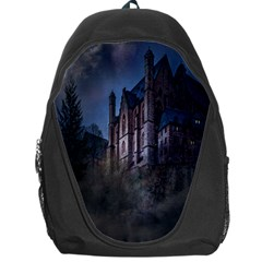 Castle Mystical Mood Moonlight Backpack Bag