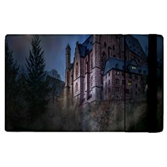 Castle Mystical Mood Moonlight Apple Ipad 3/4 Flip Case by Nexatart