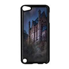 Castle Mystical Mood Moonlight Apple Ipod Touch 5 Case (black) by Nexatart