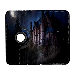 Castle Mystical Mood Moonlight Galaxy S3 (flip/folio) by Nexatart