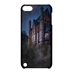 Castle Mystical Mood Moonlight Apple Ipod Touch 5 Hardshell Case With Stand by Nexatart