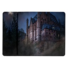 Castle Mystical Mood Moonlight Samsung Galaxy Tab 10 1  P7500 Flip Case by Nexatart