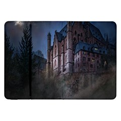 Castle Mystical Mood Moonlight Samsung Galaxy Tab 8 9  P7300 Flip Case by Nexatart