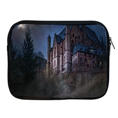 Castle Mystical Mood Moonlight Apple Ipad 2/3/4 Zipper Cases by Nexatart